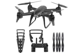 SG106 Optical Flow Drone with Dual Camera 1080P Wide Angle Wifi FPV Altitude Hold Gesture Photography Quadcopter - Black Variant Size Value black