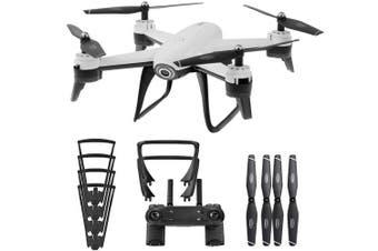 SG106 Wifi GPS FPV 4K Camera Foldable Drone RC Quadcopter White