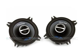 "Alpine SPS-410 4"" 45W RMS Type-S Coaxial Speakers"