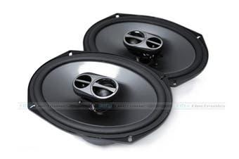 "Alpine SPS-619G 6x9"" Type-S Speakers w/ Grilles"