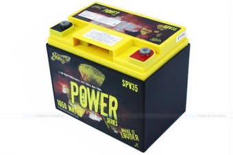 Stinger SPV35 525 AMP 12V Power Series Dry Cell Battery w/ Case