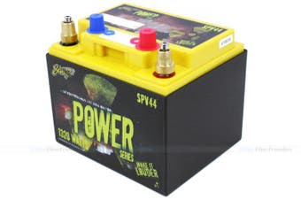 Stinger SPV44 660 AMP Power Series Dry Cell Battery w Steel Case