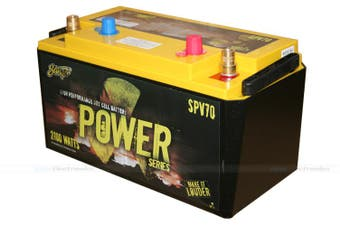 Stinger SPV70 1050 AMP Power Series Deep Cycle Dry Cell Battery