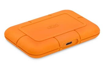 LaCie 2TB Rugged SECURE USB-C Portable Drive