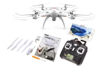 SYMA X5SW Real-Time Video Quadcopter - White