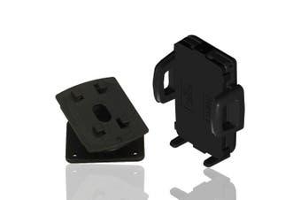 Strike Universal Cradle & Swivel Mount Bundle Car Smart Phone Holder