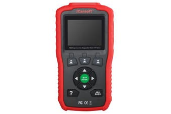 Icarsoft TYT V1.0 For Toyota Lexus Scion Isuzu Obd2 Diagnostic Code Scanner Red