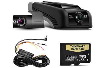Thinkware U1000 128GB 4K 2160P Front & 2K 1440P Rear Dash Cam U4KD128