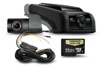 Thinkware U1000 64GB 4K 2160P Front & 2K 1440P Rear Dash Cam U4KD64
