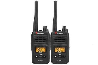 Uniden UH820S-2 Twin Pack 2 WATT Handheld 2 Handsets CB UHF Radio BRAND NEW