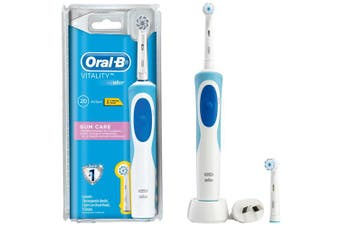 Oral-B Vitality Gum Care Rechargeable Electric Toothbrush w/ 2 Brush