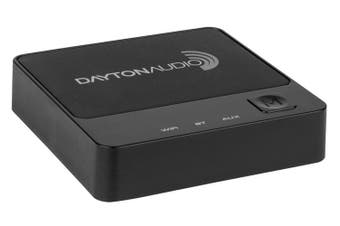 Dayton WBA31 Wi-Fi Bluetooth Audio Receiver Multi-Room Streaming