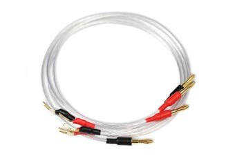 Aperion Premium Silver Cable for Super Tweeter 2 feet for Bookshelf