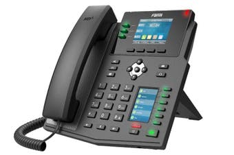 "Fanvil X4U Enterprise IP Phone 2.8"" Colour Screen 4 SIP Lines"