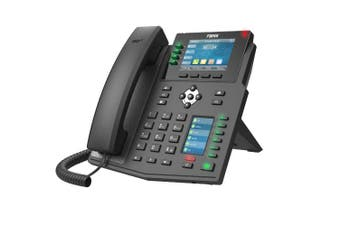 "Fanvil X5U High End Enterprise IP Phone 3.5"" Colour Screen 16 SIP Line"