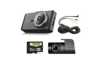 Thinkware X700D16 16GB 1080P HD Dual Front & Rear Dash Cam Pack