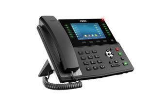 "Fanvil X7C Enterprise Color IP Phone 5"" Hig Res Screen 20 SIP Lines HD Audio BT X7C"