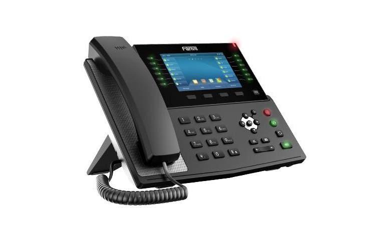 "Fanvil X7C Enterprise Color IP Phone 5"" Hig Res Screen 20 SIP Lines HD Audio BT X7C"