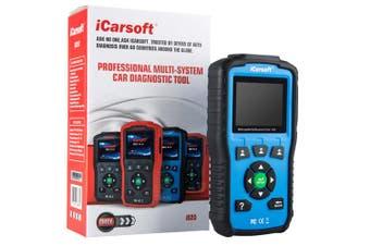 iCarsoft i820 OBDII Car Engine Diagnostic Scan Tool OBD2 Reader Blue