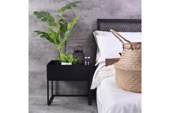 Alias  Bedside Table - Black