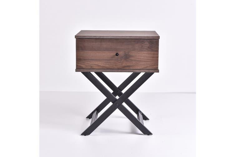Minya Bedside Table - Columbia Walnut
