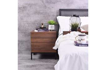 Kensei  Bedside Table - Columbia Walnut