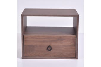 Roco Bedside Table - Columbia Walnut