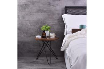 Samson  Bedside Table - Columbia Walnut