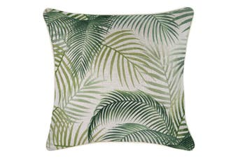 Cushion Cover-With Piping-Seminyak Green-45cm x 45cm
