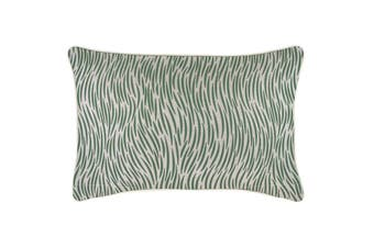 Cushion Cover-With Piping-Wild Green-35cm x 50cm
