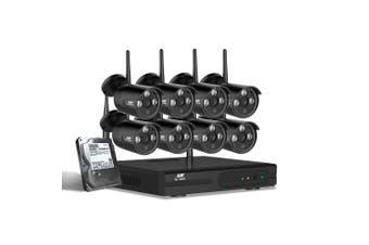 UL-Tech CCTV Wireless Security System 2TB 8CH NVR 1080P 8 Camera Sets