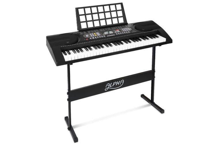 Alpha 61 Keys Electronic Piano Keyboard Electric Instrument Touch Sensitive Midi
