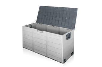 Giantz 290L Outdoor Storage Box - Grey