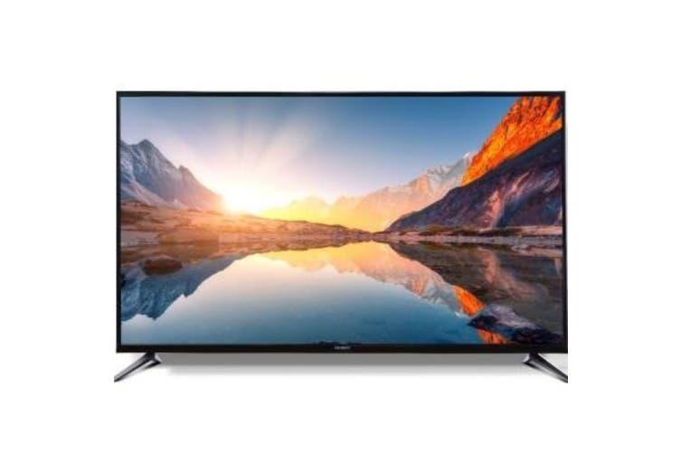 "43"" Smart TV 4K UHD Slim Screen with Netflix and YouTube"
