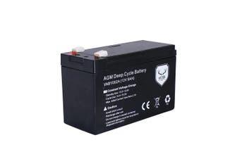 12V 9AH AMP Hour Battery AGM SLA Deep Cycle Dual Fridge Solar Power 12 VOLT