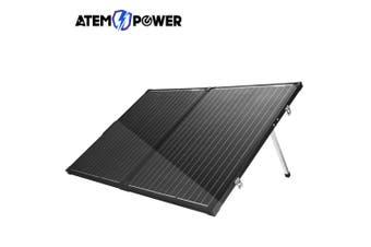 Folding Solar Panel Kit 18V160W Mono Caravan Boat Camping charging ATEM POWER