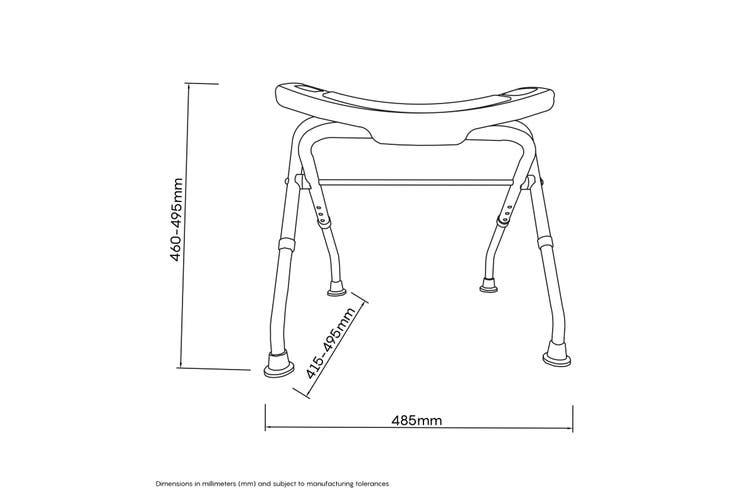 Evekare Folding Shower Chair
