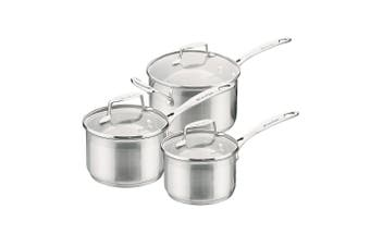 Scanpan Impact Saucepan 3 Piece Set