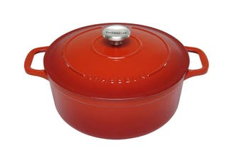 Chasseur Inferno Red Round French Oven 26cm/5.2L