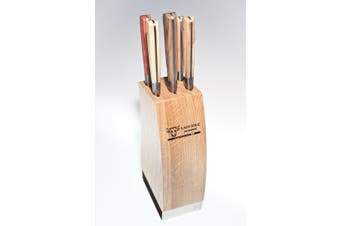 Laguiole En Aubrac Knife Block Set