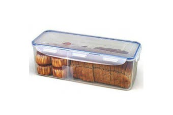 Lock & Lock Rectangular Bread Container 5.0L w Divider