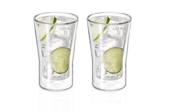 Avanti Uno Twin Wall Glass Set 250ml