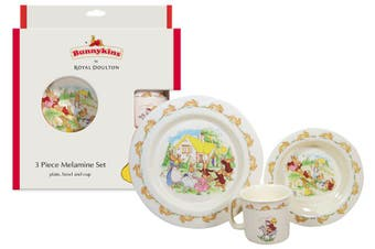 Royal Doulton Bunnykins 3pc Melamine Gift Set