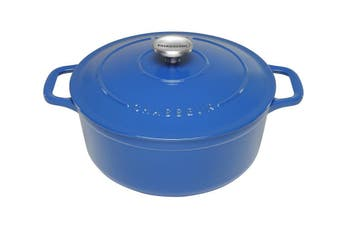 Chasseur Sky Blue Round French Oven 26cm/5.2L