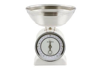 Accura Neptune Mechanical Kitchen Scales Cream