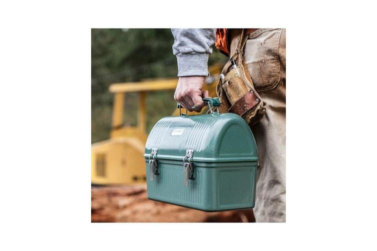 Stanley Classic Green 9.4L Metal Lunchbox