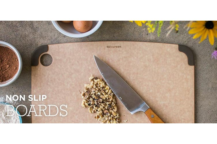 Epicurean Non Slip Cutting Board Natural 44x33cm
