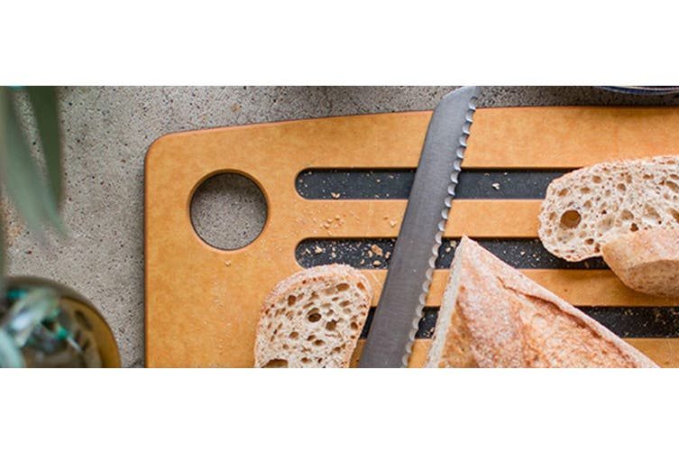 Epicurean Grooved Bread Board 46x25cm