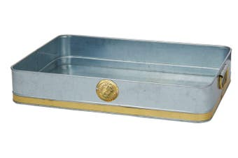 Stephanie Alexander Galvanised Serving and Storing Tray