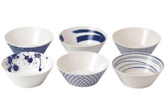 Royal Doulton Pacific Set of 6 Noodle Bowls 21cm
